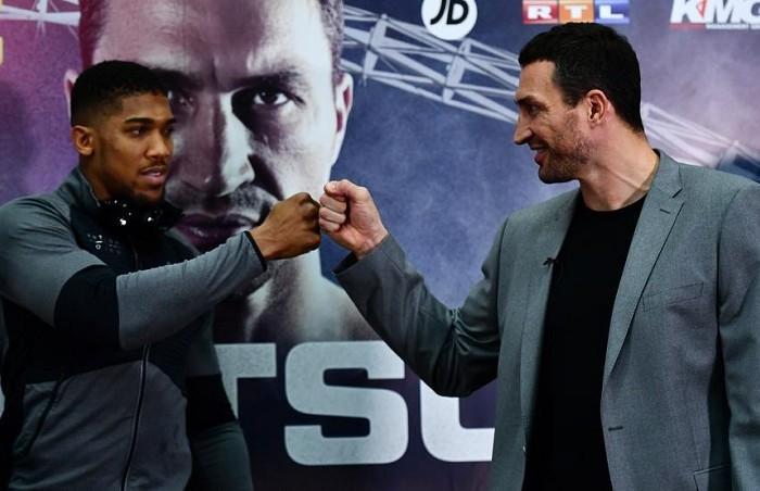 Box: Klitschko volverá contra Antonhy Joshua