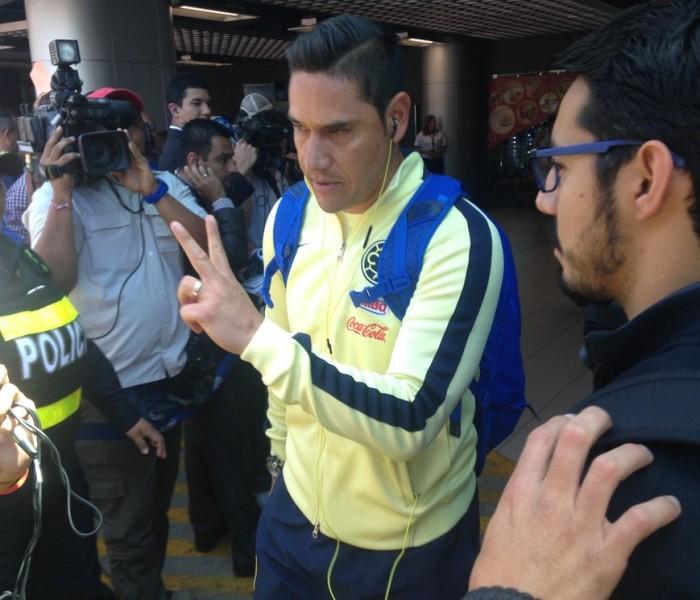 Futbol: Sin dar declaraciones, América ya se encuentra en México
