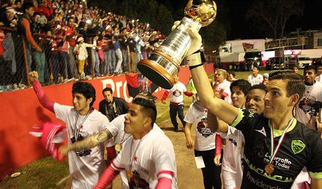 Futbol: Coyotes de Tlaxcala es campeón del Apertura 2016