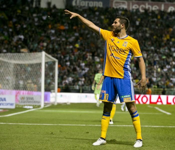 Futbol: Gignac pone de cerca a Tigres de otra final
