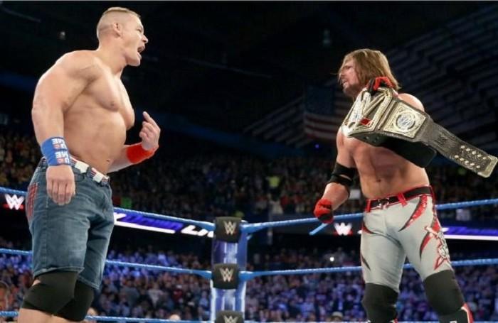 Lucha Libre: John Cena podría enfrentar a AJ Styles en Royal Rumble