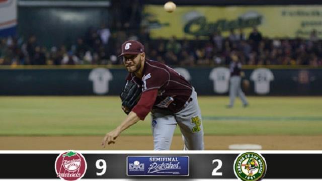 Beisbol, LMP: Tomateros vence a Cañeros y habrá séptimo juego en Los Mochis