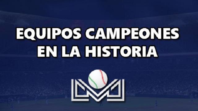 Beisbol, LMP: Te presentamos a los equipos y managers campeones de la Liga del Pacífico
