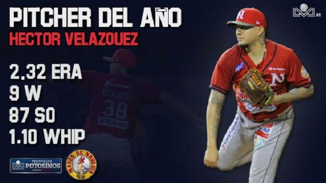 Beisbol, LMP: Héctor Velázquez es galardonado como Pitcher del Año