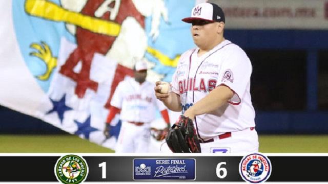 Beisbol, LMP: Solano y los Águilas brillan en casa y empatan la serie a Cañeros