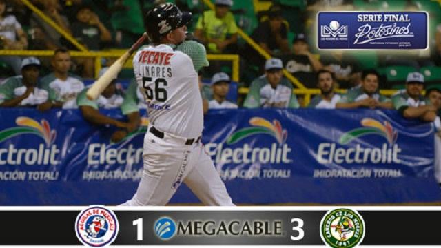 Beisbol, LMP: Con Arballo y ofensiva, Los Mochis se ponen delante de los Águilas