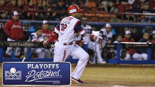 Beisbol, LMP: Roberson pega Home Run y Águilas toma ventaja sobre Mayos