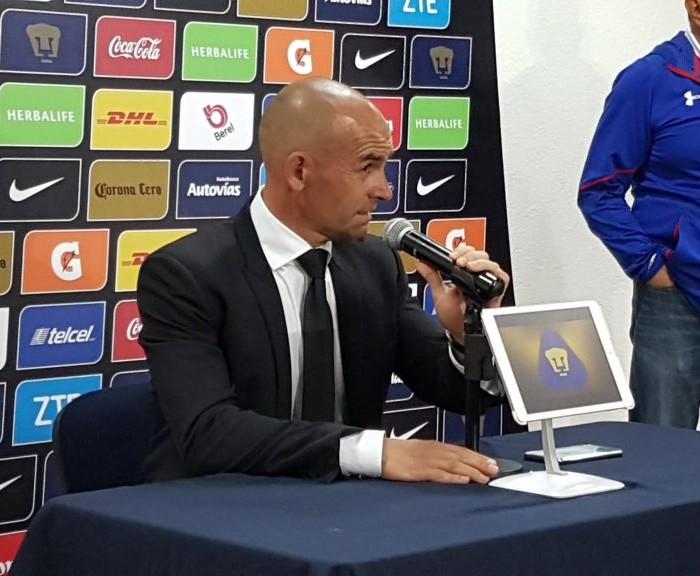 Futbol: Paco Jémez satisfecho por lo que ha demostrado Cruz Azul
