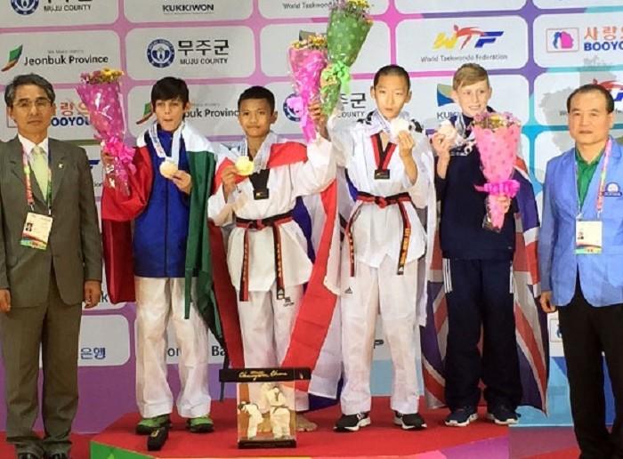Taekwondo: Jahaziel Fonseca trabaja para llegar a Buenos Aires 2018