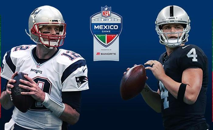 Futbol Americano: Raiders y Patriotas jugarán en México