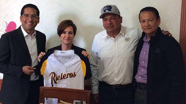 Beisbol, LMB: Rieleros planea juego a beneficio del DIF estatal contra Durango
