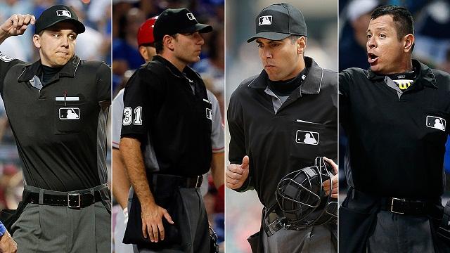 Beisbol, MLB: El venezolano Carlos Torres entre los 4 nuevos Umpires en Grandes Ligas