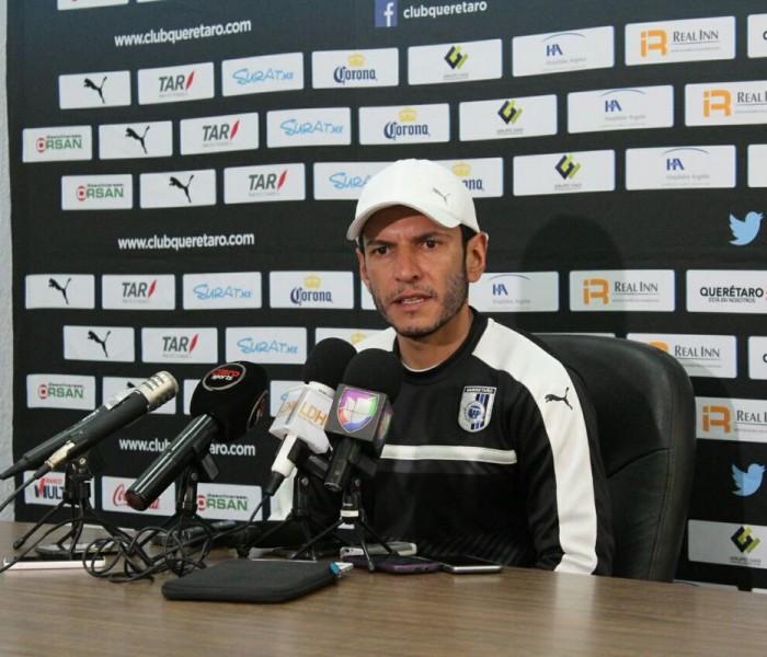 Futbol: Lozano trabaja la contundencia en Querétaro