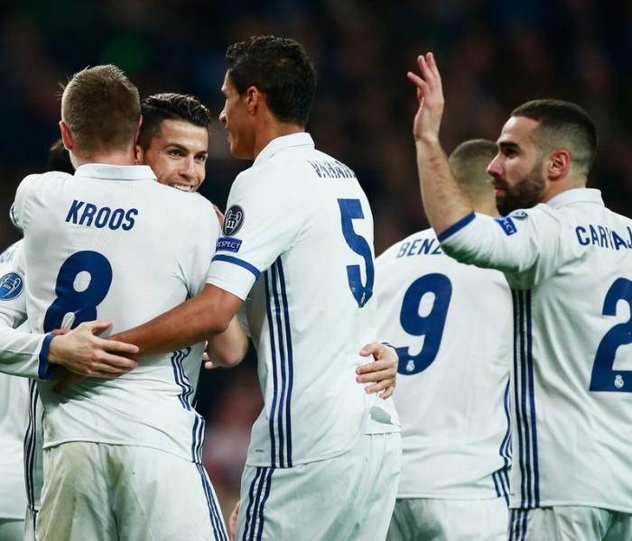 Futbol, Champions League: Real Madrid saca ventaja en la ida contra el Napoli