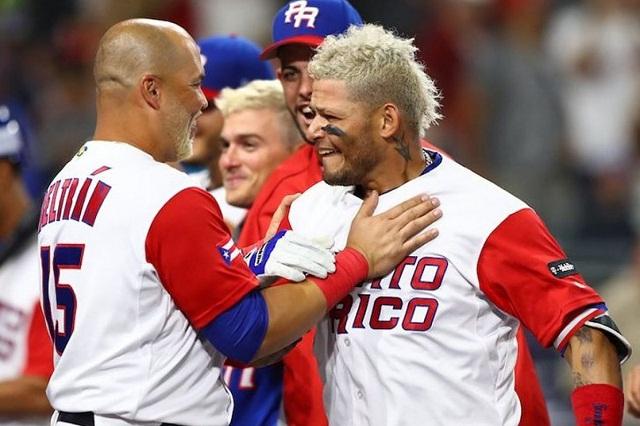Beisbol, WBC: Puerto Rico se mantiene invicto al vencer al campeón República Dominicana