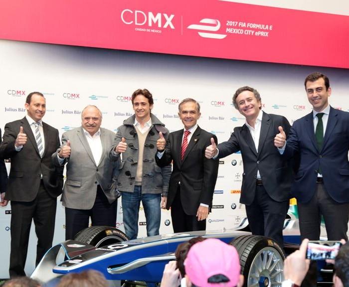 Automovilismo: Esteban Gutiérrez da exhibición de la Fórmula E