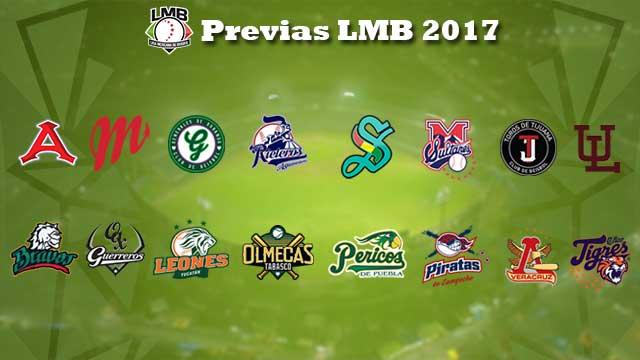 Beisbol, LMB: Estos son los posibles lineups de los 16 equipos para la temporada 2017
