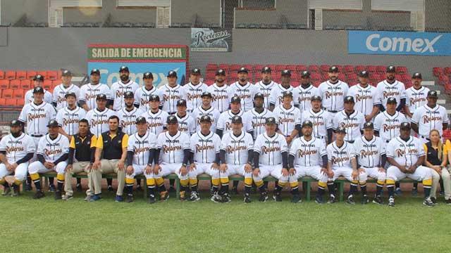 Beisbol, LMB: Rieleros se tomó su foto oficial en el Alberto Romo Chávez