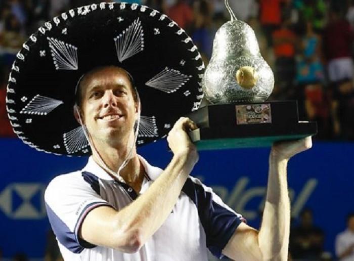Tenis: Querrey  se corona en el Abierto de Acapulco