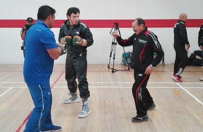 Box: Chávez Jr entrenó por segundo día con Beristáin