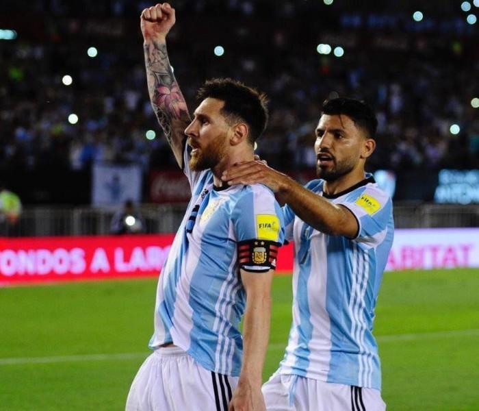 Fútbol: Messi entrenó con Argentina y jugaría ante España