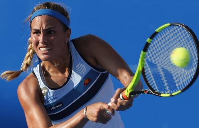 Tenis: Mónica Puig cae en Acapulco