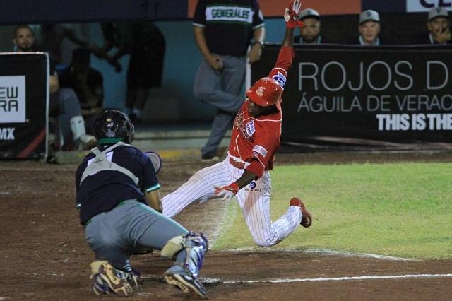 Beisbol, LMB: Apretado duelo en el puerto y Rojos del Águila ganan el primero a Generales