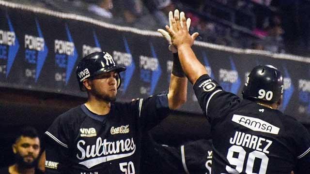 Beisbol, LMB: Noche ofensiva de Sultanes para empatar la serie en Monclova