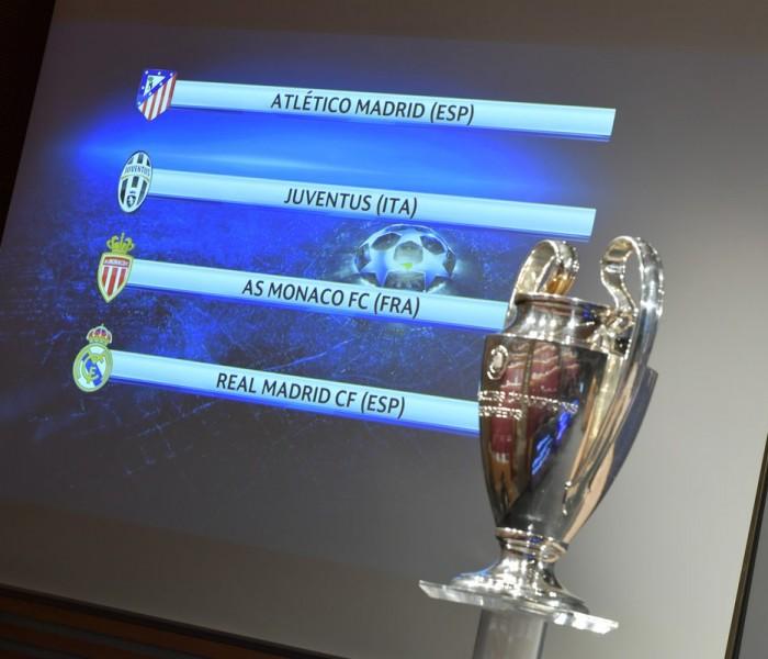 Fútbol: Habrá clásico madrileño en las semifinales de Champions League