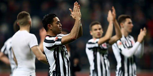 Fútbol: Marco Fabián vuelve al gol con el Eintracht Frankfurt