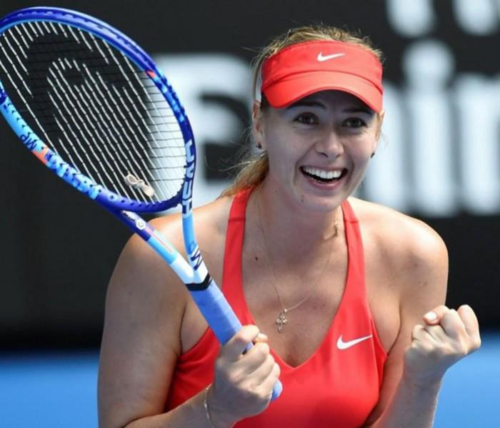 Tenis: Sharápova cumple 30 años a una semana de su regreso
