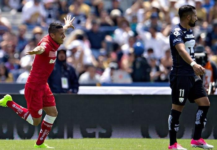 Fútbol: Toluca le hace la diablura a Pumas, vuelve al liderato