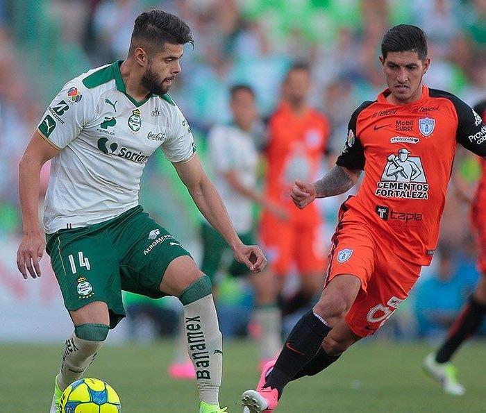 Fútbol: Santos hace valer su casa y vence a Pachuca