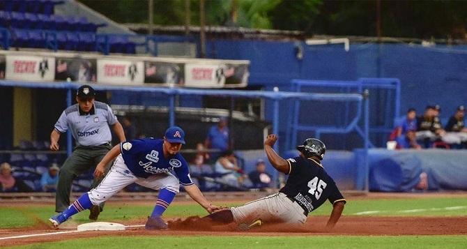 Beisbol, LMB: Acereros se quedaron con el primero de la serie en casa.