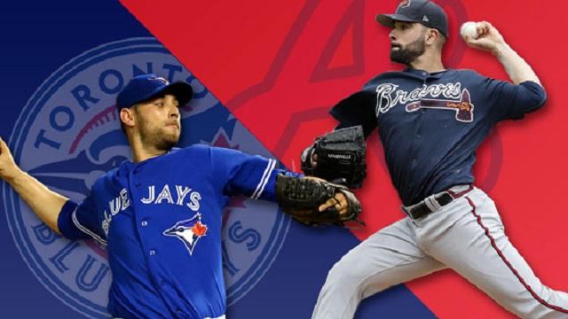 Beisbol, MLB: Con cuadrangulares, Bravos se lleva el duelo de mexicanos en Toronto
