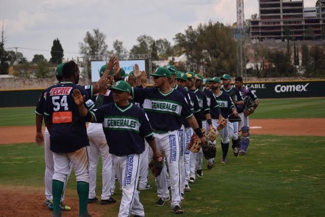 Beisbol, LMB: Generales ganan su cuarta serie de manera consecutiva.