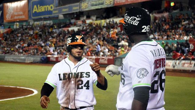 Beisbol, LMB: En espectacular duelo, Leones gana el primero de la serie a Diablos