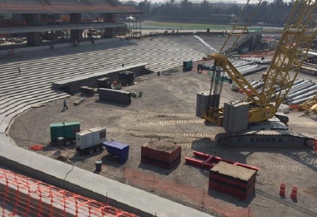 Beisbol, LMB: Continúan los avances del Nuevo Estadio de los Diablos Rojos