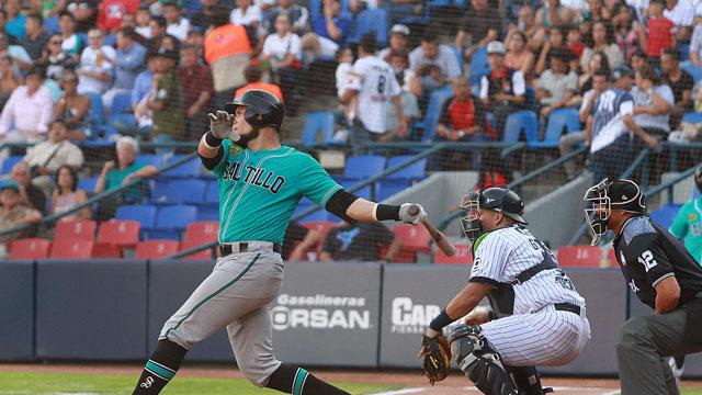 Beisbol, LMB: Luis Borges lideró la ofensiva sarapera para tomar ventaja en Monterrey