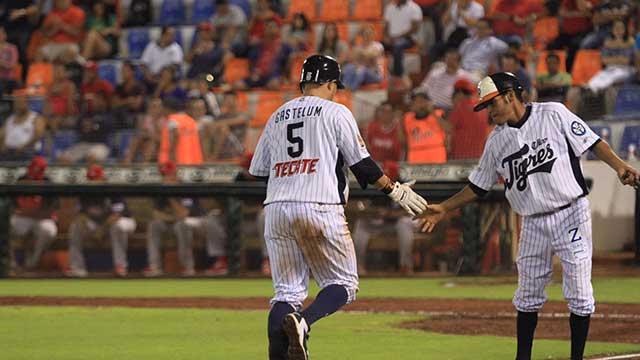 Beisbol, LMB: Gastelum lidera la ofensiva de Tigres para ganar el primero al Águila de Veracruz