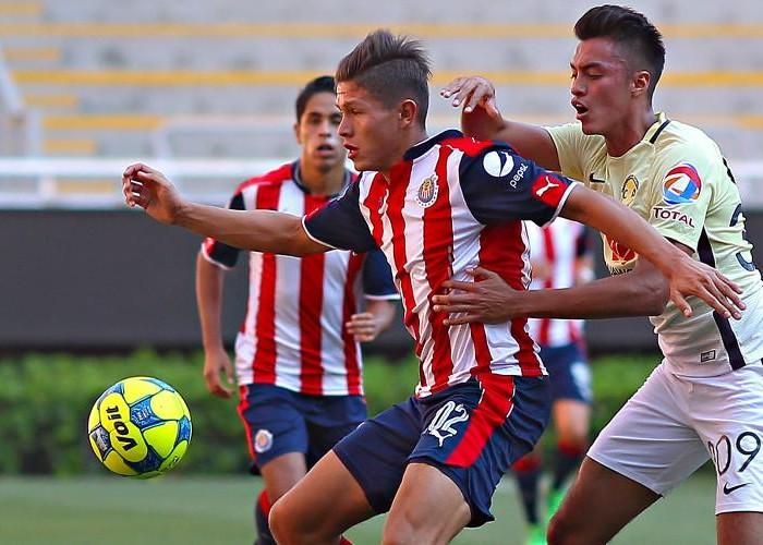 Fútbol: Chivas vence al América en la final de ida de la Sub 20