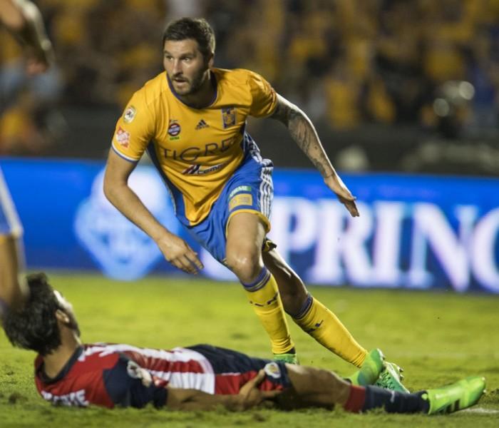 Fútbol: Doblete de Gignac empareja la final de ida entre Tigres y Chivas