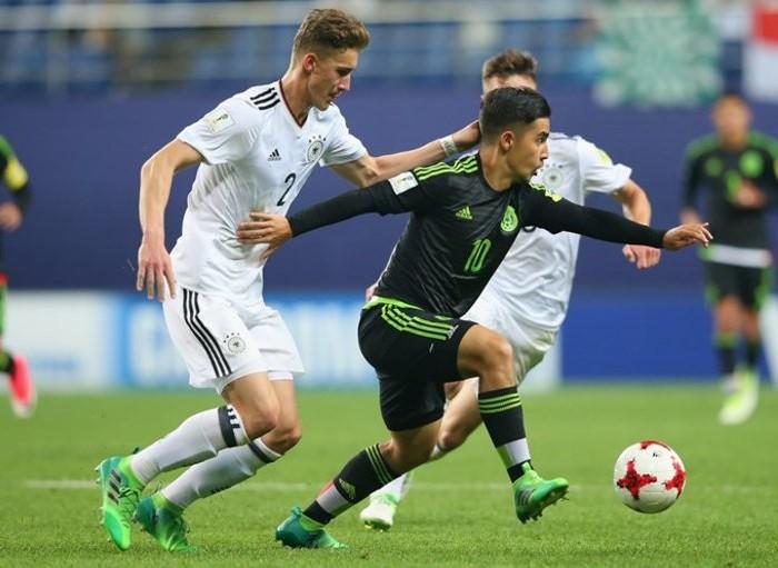 Fútbol: México y Alemania igualan sin goles en el Mundial Sub 20
