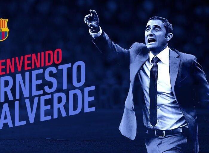 Fútbol: Valverde es quien dirigirá al Barcelona