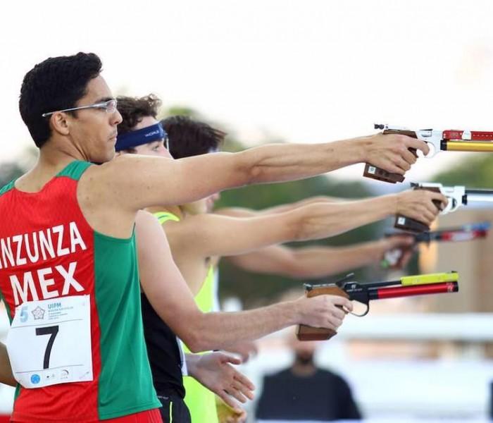 Pentatlón: Mexicano Inzunza va por pase a Barranquilla 2018