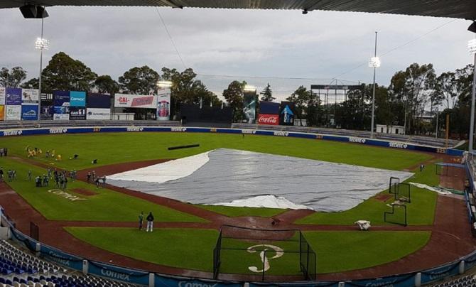 Beisbol, LMB: Se pospone el primero entre Generales de Durango y Pericos de Puebla.