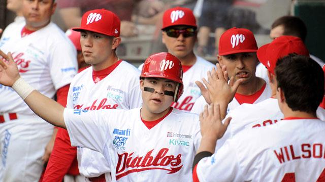 Beisbol, LMB: Con poderosa ofensiva, Diablos vence a Vaqueros y gana la serie en casa