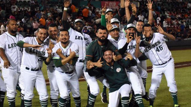 Beisbol, LMB: 'Cacao' rompió el empate y Leones le ganó el primero a Bravos