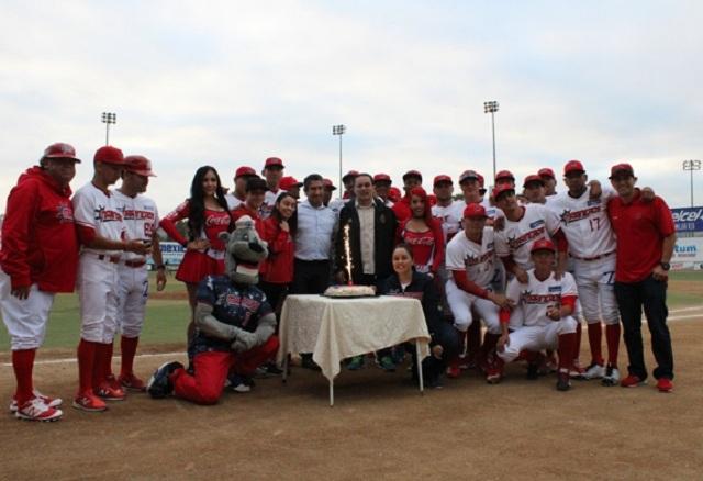 Beisbol, LMB, LNM: Se realizó la entrega de anillos a los bicampeones de la LIM