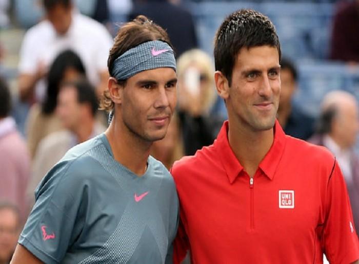 Tenis: Día de contrastes para Nadal y Djokovic